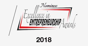 Nominee Excellence in Entrepreneurship Awards 2018 Logo