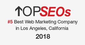 Top Seos #5 Web Marketing Company in Los Angles, California Logo